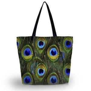 Handbags - PEACOCK TOTE